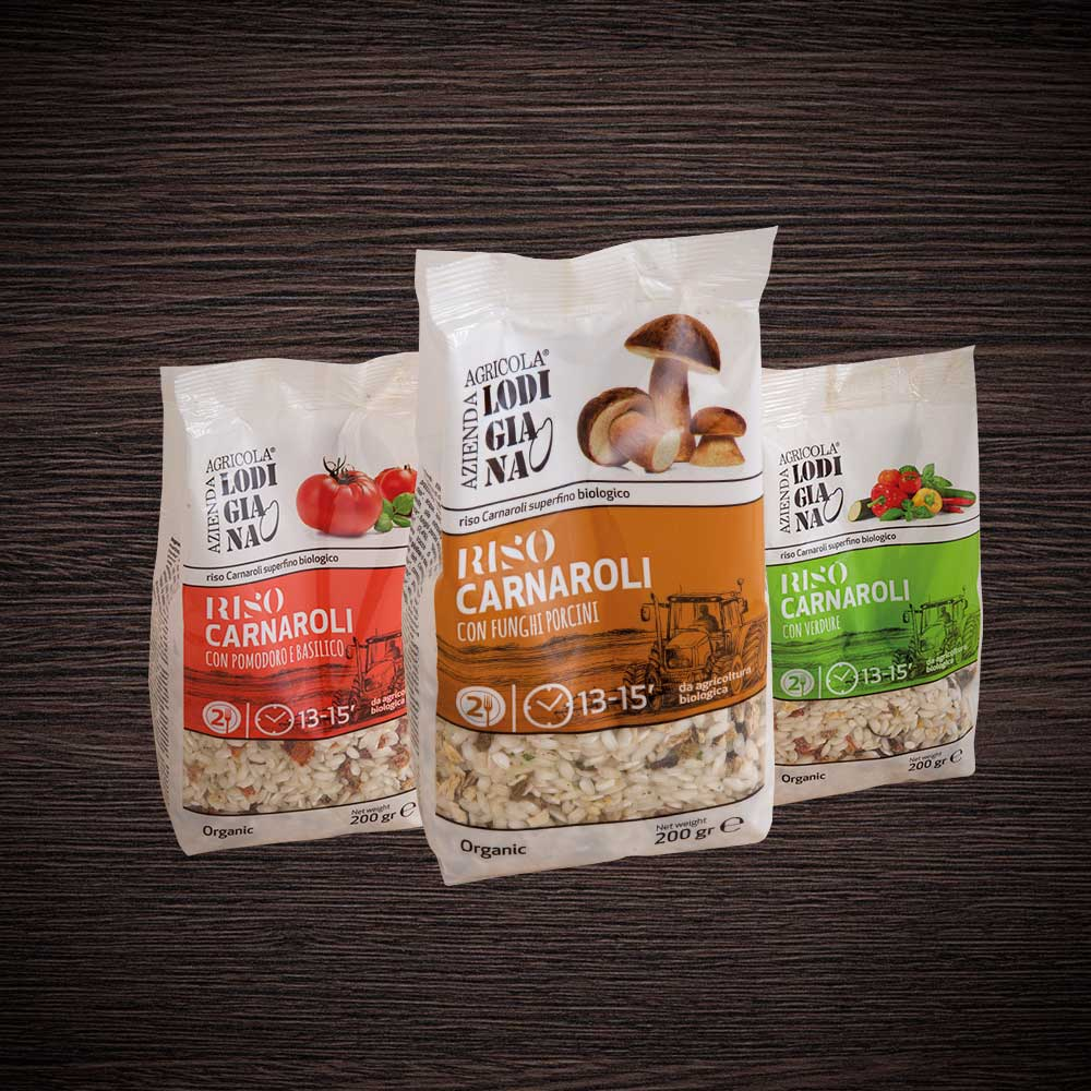 Organic ready risotto